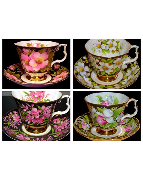 (OUT OF STOCK) ROYAL ALBERT PROVINCIAL FLOWERS